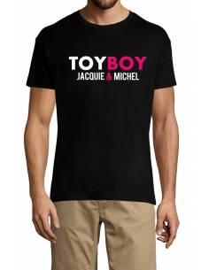 T-shirt toy boy jacquie et michel porté