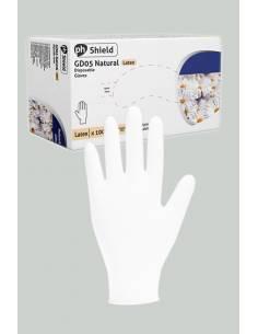 Boite de 100 gants chirurgicaux jetables en latex blancs