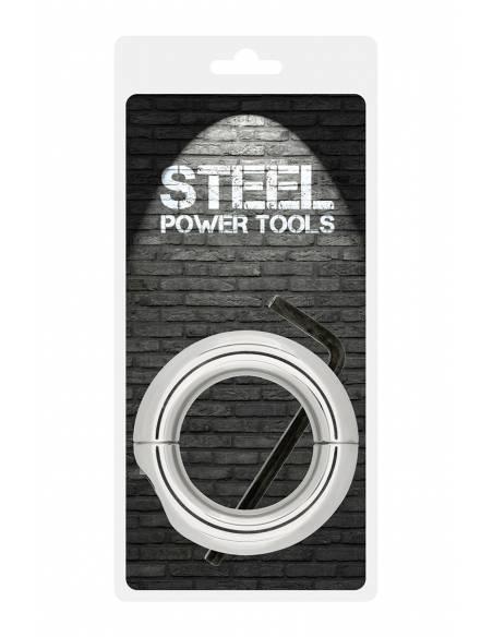 Ballstretcher acier taille S/M Steel Power Tools emballé