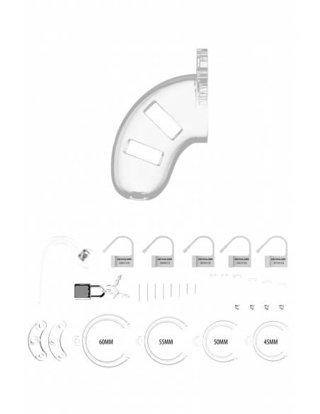 kit complet Cage de chasteté avec plug anal ManCage 10