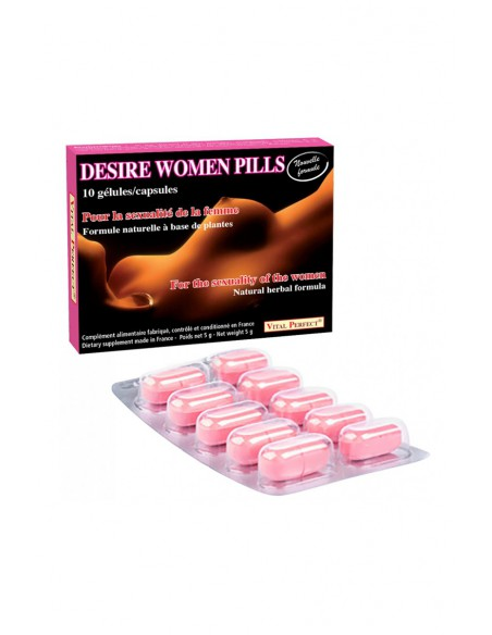 Stimulant féminin Desire Women Pills