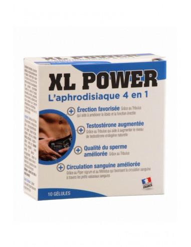 Aphrodisiaque pour hommes XL POWER 10 gélules