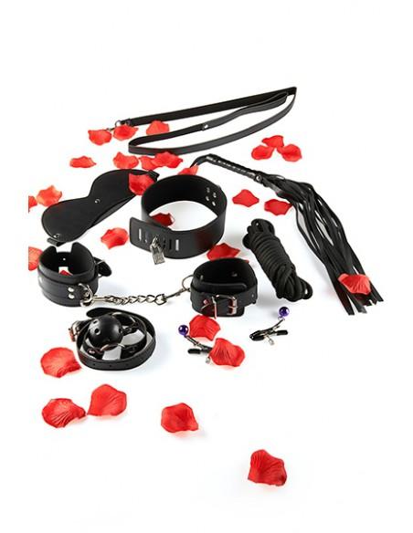 Accessoires du Coffret Initiation BDSM Starter Kit