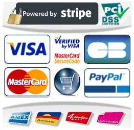 Modes de paiement sécurisés